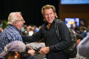 Vince van Patten bei einem Pokerturnier