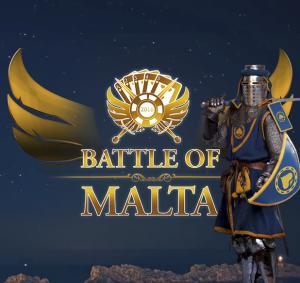 Promo-Anzeige für das Battle of Malta