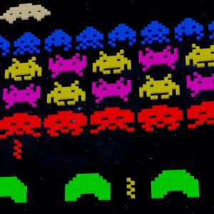 Das Spiel Space Invaders