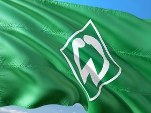 Fahne von Werder Bremen