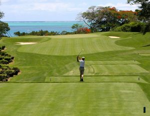 Golf, Golfplatz, Ozean