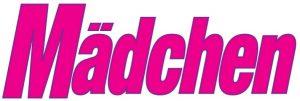 Logo der Zeitschrift Mädchen