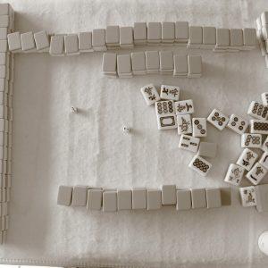 Mahjong, Spielsteine