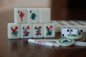 Mahjong, Steine, Würfel