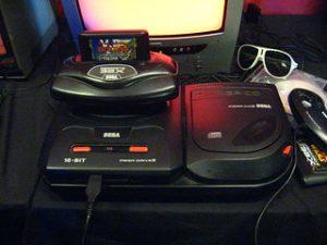 Die Spielkonsole Sega Megadrive
