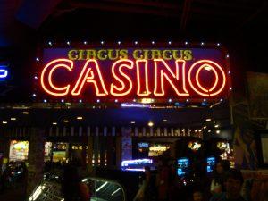 Circus Circus Casino Reno Schild