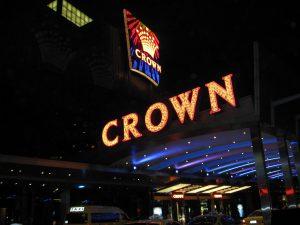 Crown Casino Leuchtschild