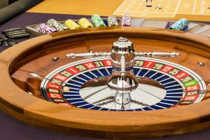 Electronic roulette machine
