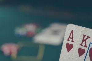 Spielkarten Ass König