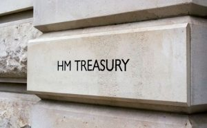 Finanzministerium Großbritannien