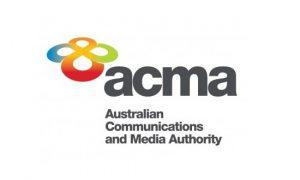 Logo Australian Communications and Media Authority