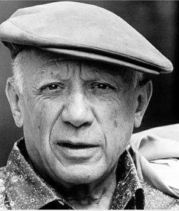 Pablo Picasso, spanischer Maler und Bildhauer