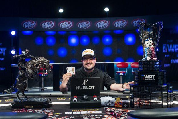 Dennis Blieden bei der WPT L.A. Poker Classic