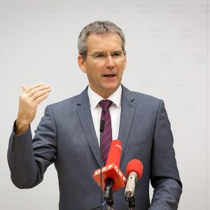 Ex-Finanzminister Hartwig Löger