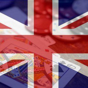 Britische Flagge Junion jack Spielkarten