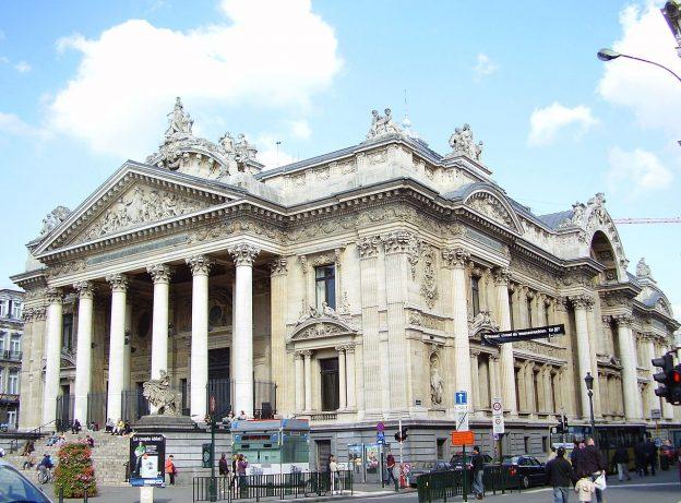 Euronext Börse in Paris Gebäude