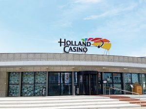 Holland Casino Gebäude von außen