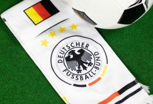 DFB Logo auf Fanschal