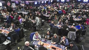 Spieltische bei der World Poker Tour