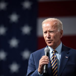 Joe Biden bei einer Rede