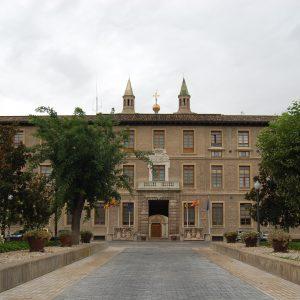Saragossa, Sitz der Regierung von Aragonien, Spanien