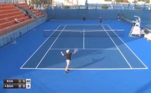 Screenshot Tennis Artem Bahmet