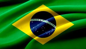 Die Flagge Brasiliens