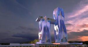 Hellinikon Casino Resort, Himmel, Gebäude