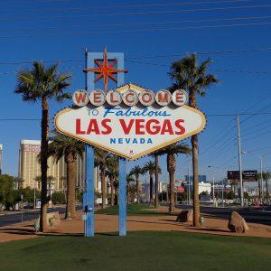 Das Ortszeichen von Las Vegas