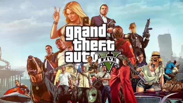 Grand Theft Auto V Cover