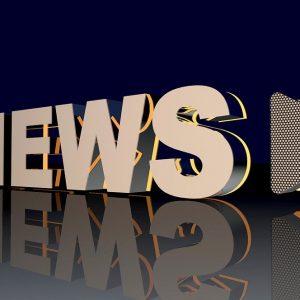 Ein News-Schriftzug
