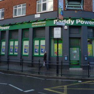 Ein Paddy Power Wettbüro