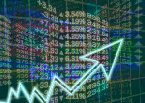 Pfeil, Zahlen, Börse