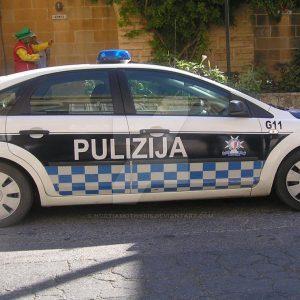Polizeiwagen Malta