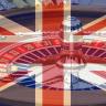 britische Flagge, Roulette Rad, Chips