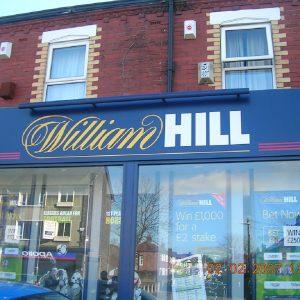 William Hill Wettbüro von außen