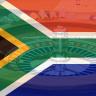 Südafrika Flagge, Roulette Rad, Chips