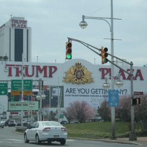 Das Trump Plaza in Atlantic City