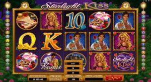 Spielautomat Starlight Kiss, Mann, Frau
