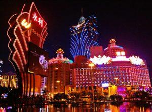 Casinos Macau bei Nacht
