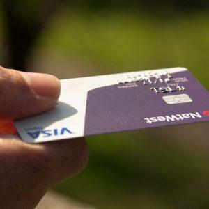 Hand, Kreditkarte
