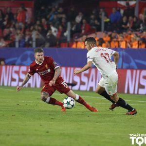 Fußball, FC Liverpool, Liverpool gegen Sevilla