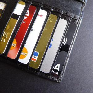 Kreditkarten, Visa, Mastercard, Portemonnaie