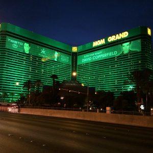 MGM Grand bei Nacht