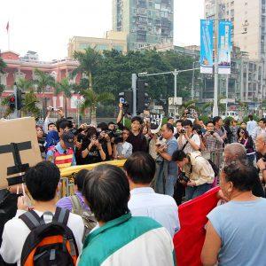 Demonstration Macau