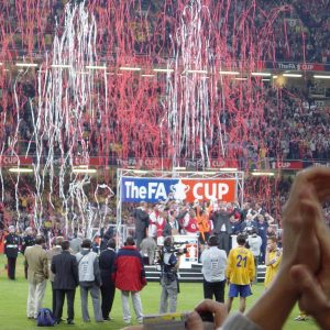 FA Cup Finale im Stadion