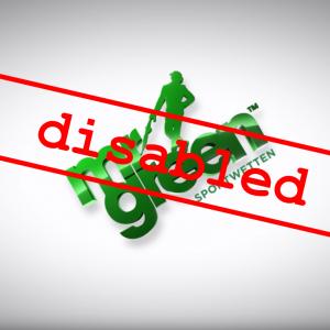 Mr Green Logo disabled