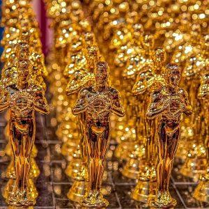 Mehrere Oscar-Trophäen