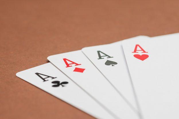 Spielkarten, Asse