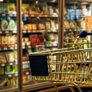 Kühlschränke im Supermarkt